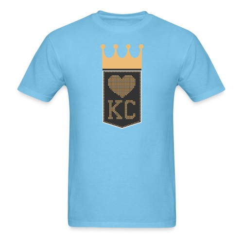 Royal Scoreboard - Men's T-Shirt