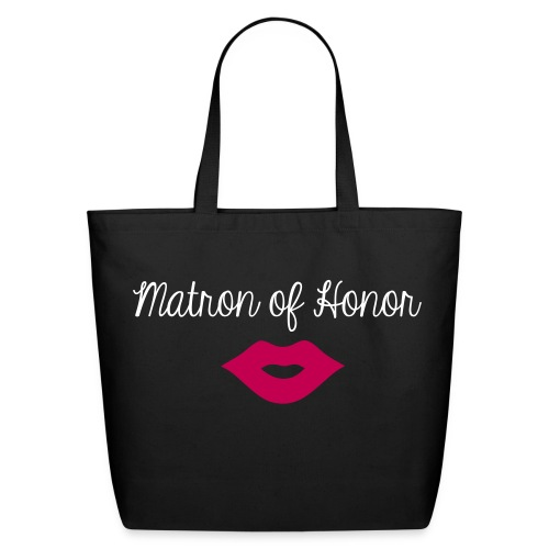 Matron Of Honor Eco-Friendly Tote - Eco-Friendly Cotton Tote