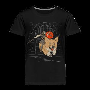 The Corgi Knight - Toddler Version - Toddler Premium T-Shirt