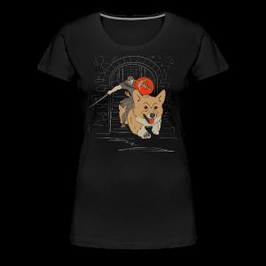 The Corgi Knight - Ladies Version - Women's Premium T-Shirt