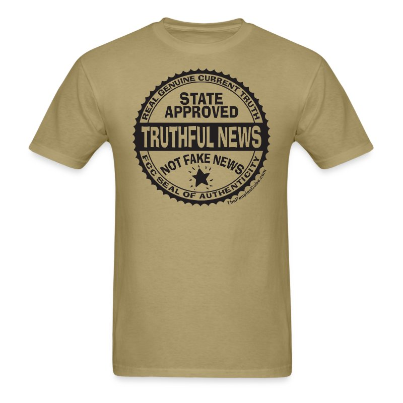 Truthful News FCC Seal - Men's T-Shirt