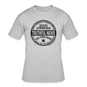 Truthful News FCC Seal - Men's 50/50 T-Shirt