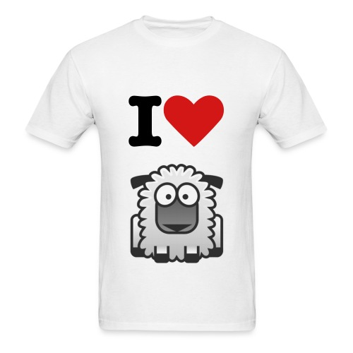 i Love TheLostSheeps - Men's T-Shirt