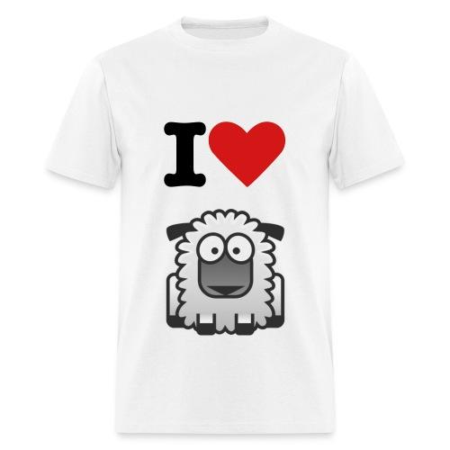 i Love TheLostSheeps - Men's T-Shirt