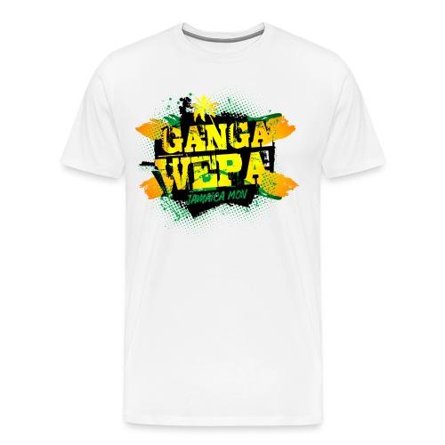 Ganga wepa jamaica - Men's Premium T-Shirt