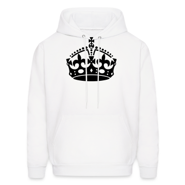 Keep Calm Crown Hoodies