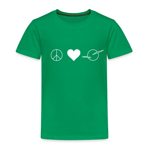 NEW! Toddler PEACE. LOVE. DAINAVA Tee - Toddler Premium T-Shirt