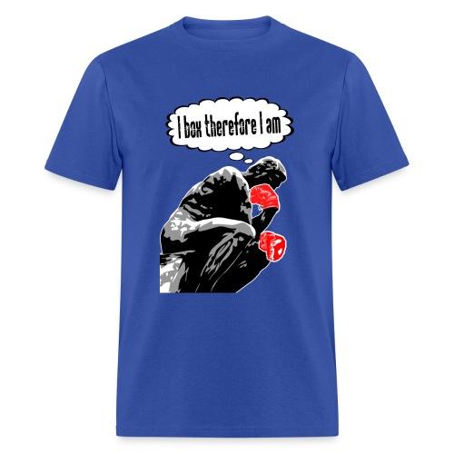 Boxing Thinker - Men's T-Shirt