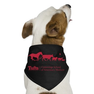 Dog Bandana - Running Animals - Dog Bandana