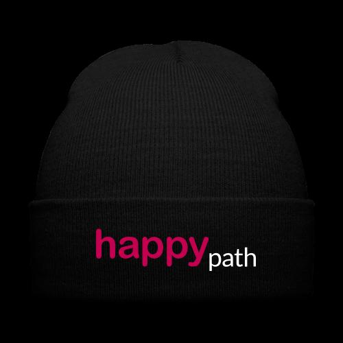 Happy Path Cap - Knit Cap with Cuff Print