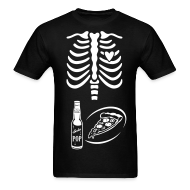 T-Shirts ~ Men's T-Shirt ~ Dad to Be Skeleton Tee with