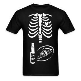 Dad to Be Skeleton Tee with