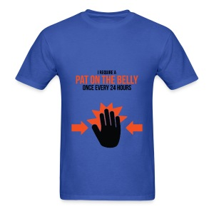 Mens Tee: Belly Pat - Men's T-Shirt