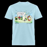 T-Shirts ~ Men's T-Shirt ~ Bear Clown Men's Standard Tee