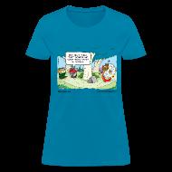 T-Shirts ~ Women's T-Shirt ~ Bear Clown Women's Standard Tee