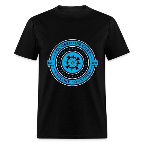 Retro FFC Design Powder B - Men's T-Shirt