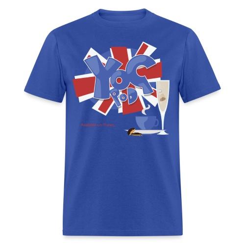 Mens Tee: YoGPoD Logo - Men's T-Shirt