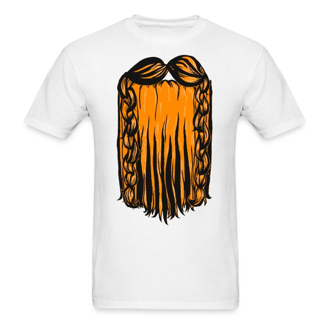 Mens Tee: Dwarf Beard