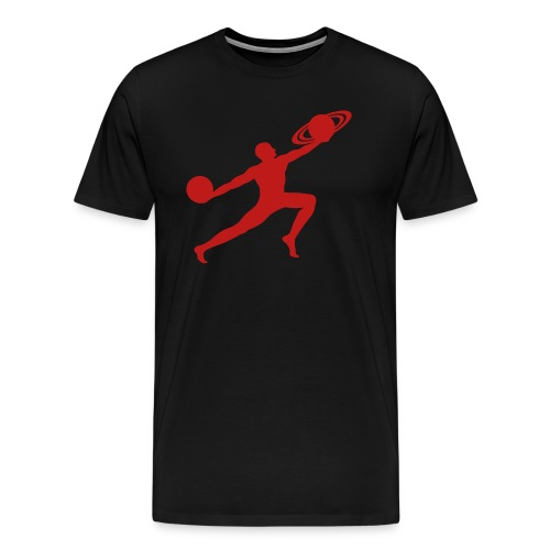 Red Glitter Sparkle Logo - Men's Premium T-Shirt