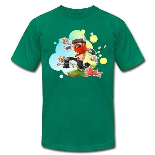 Superior Mens Tee: Honeydew's Pets - Men's Fine Jersey T-Shirt
