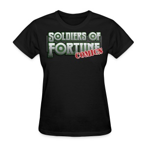 Soldiers of Fortune con shirt - Women's T-Shirt
