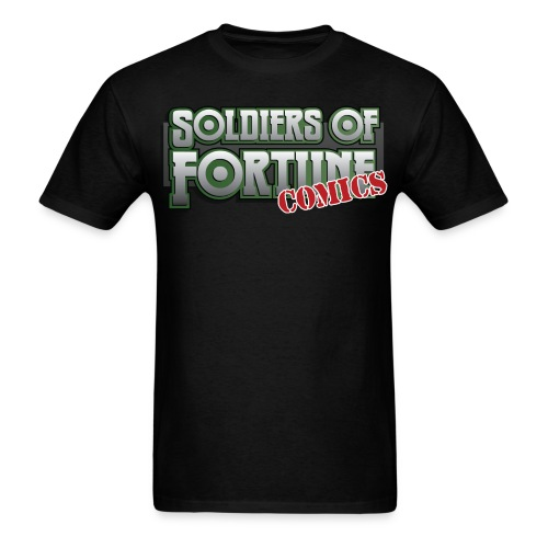 Soldiers of Fortune con shirt - Men's T-Shirt