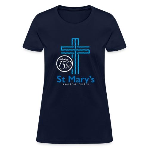 150th Navy T-Shirt (ladies) - Women's T-Shirt