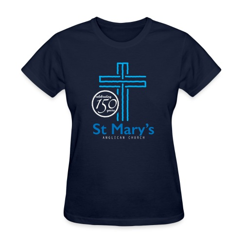 150th Navy T-Shirt (ladies) - Women's T-Shirt