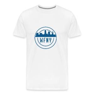 WFNY Logo T-Shirt (White) - Men's Premium T-Shirt