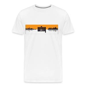 WFNY Podcast Logo T-Shirt (White) - Men's Premium T-Shirt