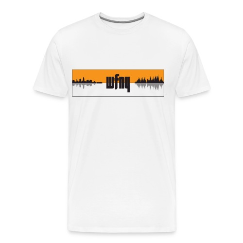 WFNY Podcast Logo T-Shirt (White) - Men's Premium T-Shirt