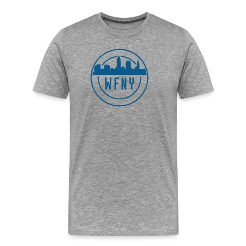 WFNY Logo T-Shirt (Grey) - Men's Premium T-Shirt