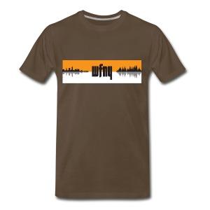 WFNY Pocast T-Shirt (Black) - Men's Premium T-Shirt
