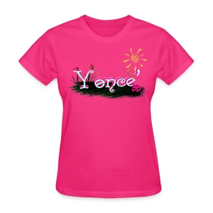 Blox3dnyc.com Grass Patch design for Yonce - Women's T-Shirt