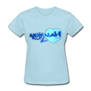 Blox3dnyc.com Heart1 design for  - Women's T-Shirt