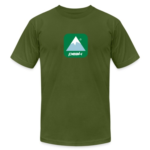 Peak tee - Men's T-Shirt by American Apparel