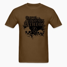 Cogito, ergo sum Atheos - I think, therefore I am Atheist T-Shirts