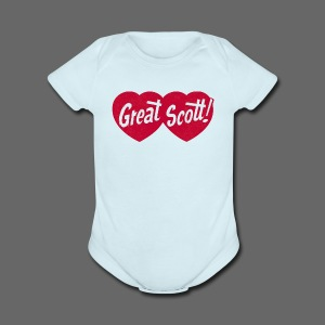 Great Scott! - Short Sleeve Baby Bodysuit