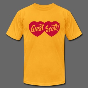 Great Scott! - Men's T-Shirt by American Apparel
