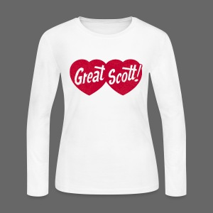 Great Scott! - Women's Long Sleeve Jersey T-Shirt