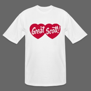 Great Scott! - Men's Tall T-Shirt