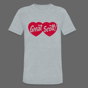 Great Scott! - Unisex Tri-Blend T-Shirt by American Apparel