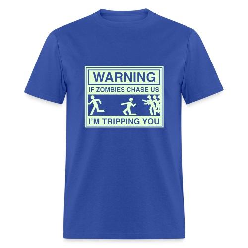 Boy Zombie Chase - Men's T-Shirt