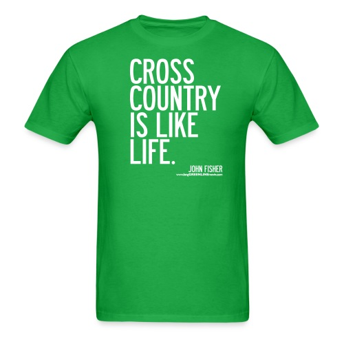 Cross Country is Like Life - Men's T-Shirt
