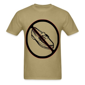 NO LOAFERS tshirt flex print offensive @bigoletitties hstreet - Men's T-Shirt