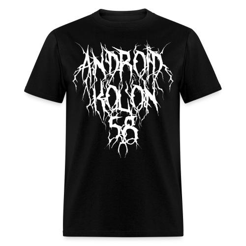 Black Industrial V - Men's T-Shirt