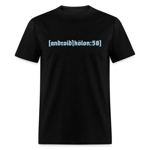 Our Full Logo on a Shirt - Men's T-Shirt