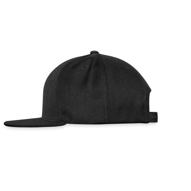 DA Hat Mark Offset Black