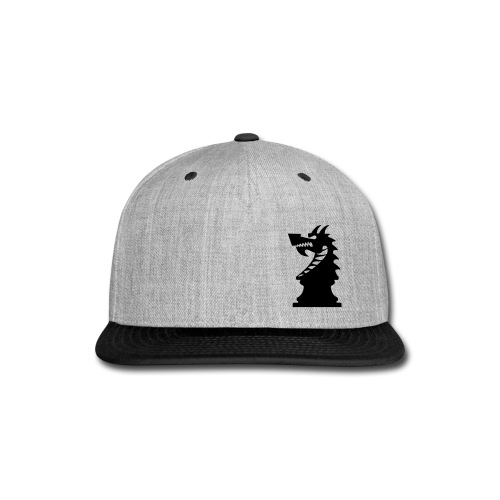 DA Hat Mark Offset Two Tone - Snap-back Baseball Cap