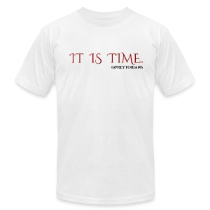 Preytorians - It Is Time Men's T - Men's T-Shirt by American Apparel